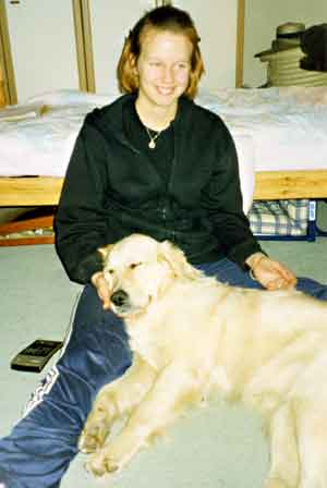 Golden Retriever magic with Marie